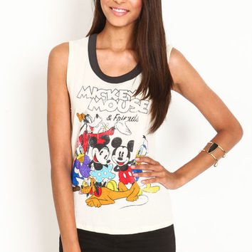 MICKEY MOUSE AND FRIENDS TEE