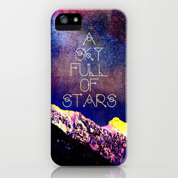 A Sky Full of Stars - for iphone iPhone & iPod Case by Simone Morana Cyla
