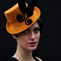 $150 cocktail hatnew hat by yellowfield7 on Etsy