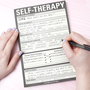 Fredflare.com - Self-Therapy Notepad - Knock Knock Self Therapy Pad