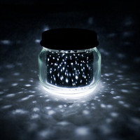 2oz mini STAR JAR // upcycled constellation nightlight by heysp