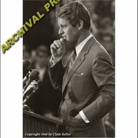 CAMELOT, Robert F. Kennedy Portrait, Clyde Keller RFK Photo | ClydeKeller - Photography on ArtFire