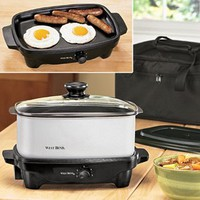 Versatility Slow Cooker & Tote @ Fresh Finds