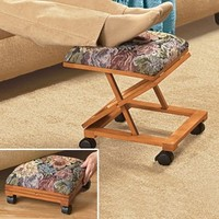 Folding Tapestry Footrest @ Fresh Finds
