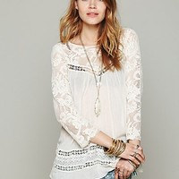 Free People Womens FP ONE Golden Age Top -