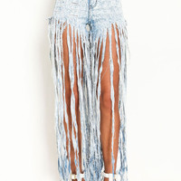 ON THE FRINGE ACID JEANS
