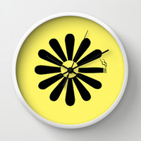 Looking for Alaska Wall Clock by green.lime