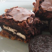 Slutty Brownies - Cookie Oreo Chocolate Fudge Brownie Bars | Luulla