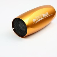 Gold Mini Sports Speaker MP3 Player Bass Sound for Bike - &amp;#36;18.05 : freegiftbox!, online shopping for electronics,iphone ipad accessories, comsumer electronics and accessories, game accessories and fashion apperal