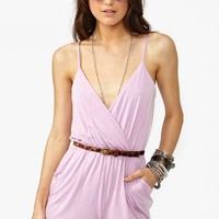 Road Trip Romper - Lilac in  What's New at Nasty Gal