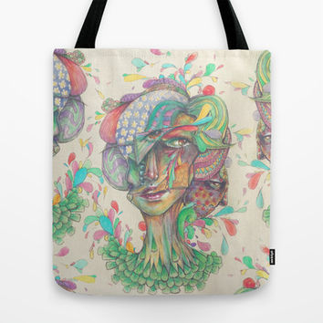 Pops of the Fresh Tote Bag by Ben Geiger