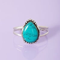 Taos Turquoise Cuff  in  What&#x27;s New at Nasty Gal