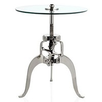 Crank Table | Accent Tables & Stools | Accessories | Decor | Z Gallerie