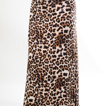 Different Worlds Skirt: Cheetah