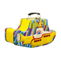 The Beatles Yellow Submarine Embossed Tin Tote - Unique Vintage - Cocktail, Evening, Pinup Dresses