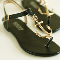 Ahoy Anchor Sandals