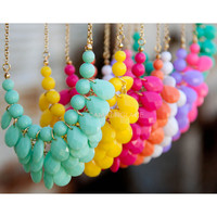 Colorsplash Mini Bubble Necklace