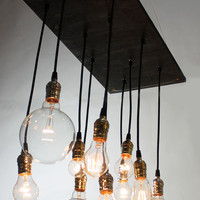 Small Urban Chandelier by urbanchandy on Etsy