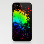 Splatter iPhone & iPod Skin by CosmosDesignz | Society6