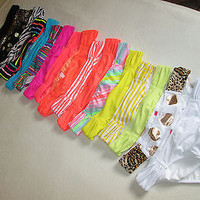 NEW Victoria's Secret Bikini Swimsuit Bottoms Beach Sexy Ruched Sides Low Rise