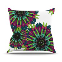 Kess InHouse Alison Coxon Bright Throw Pillow