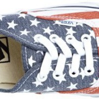 Vans Unisex Authentic Van Doren Shoes Stars & Stripes