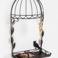 Bird Cage Jewelry Stand