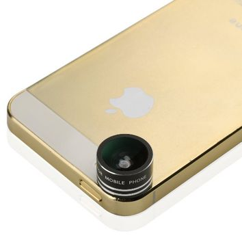 VicTsing Magnetic Detachable 170¡ãFish Eye Cameral LensFisheye 0.28X Lens for iPhone 5S 5C 5 4S 4G 3G Samsung Galaxy S2 S3 S4 S5 Note II III
