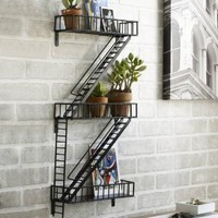 Fire Escape Shelving