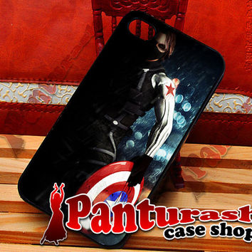 Winter Soldier - iPhone 4/4s/5/5s/5c - iPod 4/5 - Samsung Galaxy s2/s3/s4 Case
