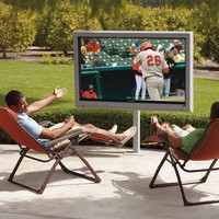 Outdoor 65' LCD Television