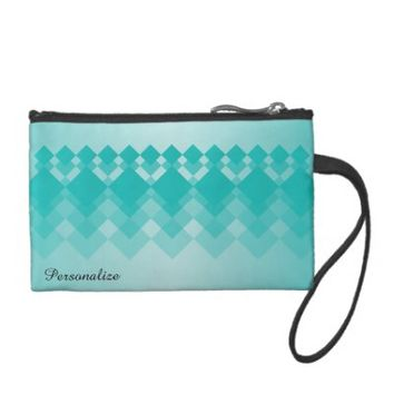 Coin Bag- Chrysoprase Diamond Design