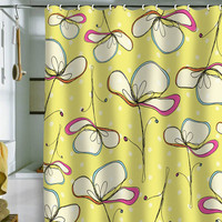 DENY Designs Home Accessories | Rachael Taylor Floral Umbrellas Shower Curtain