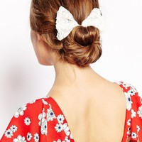 ASOS Lace Bow Hair Band