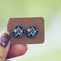 Floral 5SOS Graphic Earrings