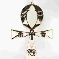 Big Ankh Earrings