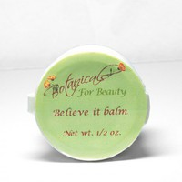Believe it lip balm sample Net wt 0.5 oz. | botanicalsforbeauty - Bath &amp; Beauty on ArtFire