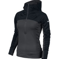 Nike Women's Pro Hyperwarm Dri-FIT Max Shield Half Zip Hoodie