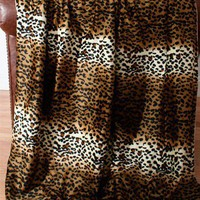 Cheetah Microplush Throw - New Arrivals