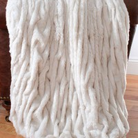 Aspen Faux Fur Throw - New Arrivals