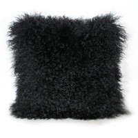 Mongolian Fur Pillow - New Arrivals
