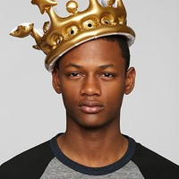 King For The Day Inflatable Crown - Urban Outfitters