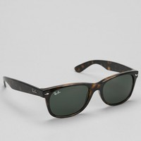 Ray-Ban New Wayfarer Tortoise Sunglasses - Brown One