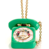Me &amp; Zena | Dream Phone Telephone Necklace