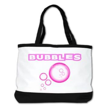 Bubbles Pink! Shoulder Bag - Girl Tease