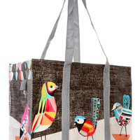 Pretty Birds Retro Flight Bag