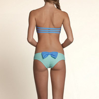 Bow Back Cheeky Swim Bottom