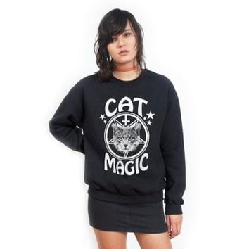 Killer Condo Women's Cat Magic Sweatshirt
