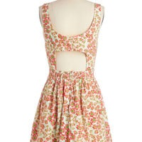 ModCloth Mid-length Sleeveless A-line Playful at the Park Dress