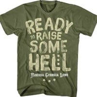 "New Florida Georgia Line ""Raise Some He!!"" Country Rock Licensed Adult T-Shirt"